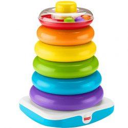 Fisher Price- Óriás színes gyűrűpiramis
