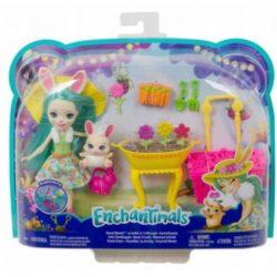 Enchantimals Bunny Bloom baba kiegészítőkkel