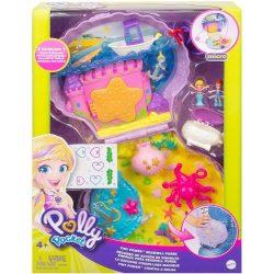 Mattel: Polly Pocket táska meglepetés hely (tengerpart)