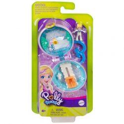 Mattel: Polly Pocket picuri helyszínek - Polly havas kalandja játékszett GKJ41