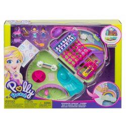 Mattel: Polly Pocket táska meglepetés hely Szivárvány játszótér