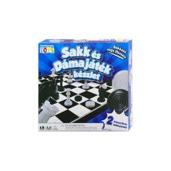 Sakk és Dámajáték készlet