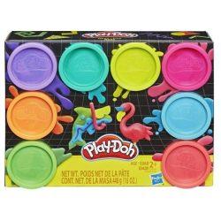 PLAY DOH 8-AS CSOMAG neon színek