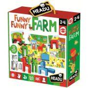 Puzzle fa figurákkal-Nagyon vidám farm élet HEADU