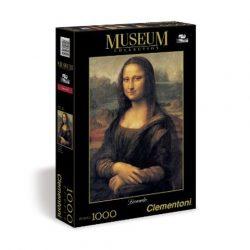 Leonardo da Vinci: Mona Lisa 1000 db-os puzzle - Clementoni