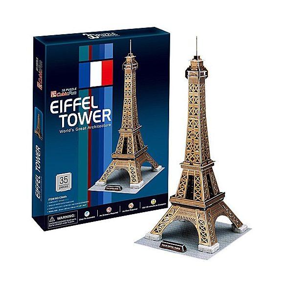 Eiffel-torony 3D puzzle 35db - CubicFun