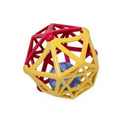 ABC puha műanyag csörgő labda - Simba Toys