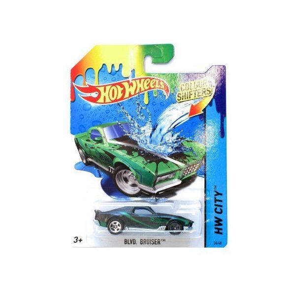 Hot Wheels: BLVD. Bruiser színváltós kisautó 1/64 - Mattel