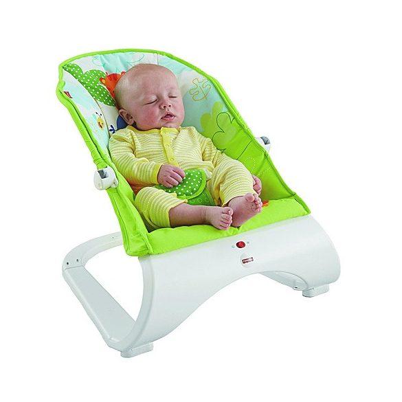 Fisher-Price: Esőerdős hajlított babafotel - Mattel