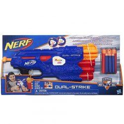 Nerf N-Strike Dual Strike szivacslövő fegyver - Hasbro