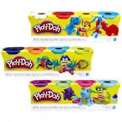 Play-Doh 4 tégely színes gyurma - Hasbro