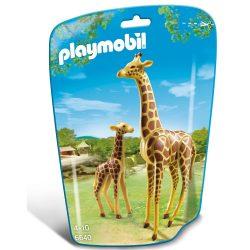 Playmobil: zsiráf és kicsinye