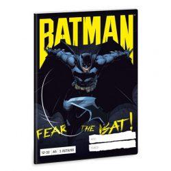 Batman 3. osztályos vonalas füzet A/5