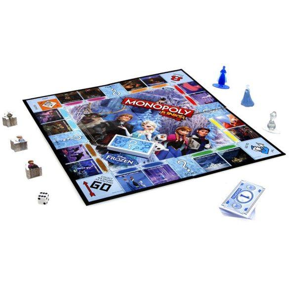 Jégvarázs Monopoly Junior társasjáték - Hasbro