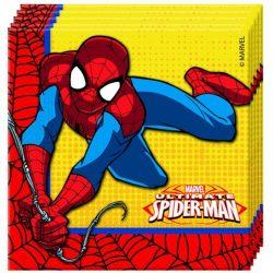Ultimate Pókember papírszalvéta 33x33cm 20db