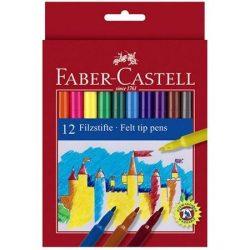 Színes kimosható filctoll 12db-os szett - Faber-Castell