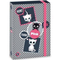 Think-Pink cicás füzetbox A/5-ös méretben