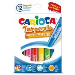 Carioca Színes tempera stick 12 db-os