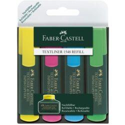 Faber-Castell: Színes szövegkiemelő 4db-os