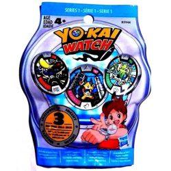 Yo-Kai őrzők: 3 medál meglepetés csomag