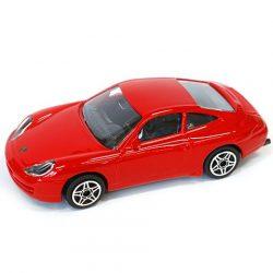 Bburago: Porsche 911 Carrera piros fém autómodell 1/43