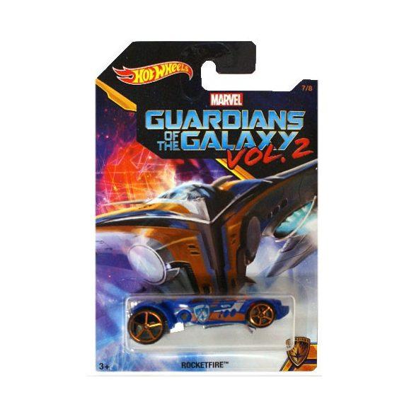 Hot Wheels - Galaxis őrzői 2: Rocketfire kisautó - Mattel