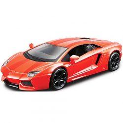 Bburago: Lamborghini Aventador LP700 narancssárga fém autómodell 1/32