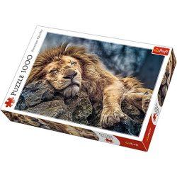 Alvó oroszlán 1000db-os prémium puzzle - Trefl
