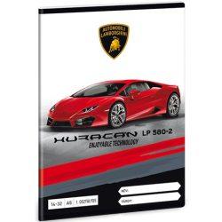 Lamborghini Huracán 1.osztályos vonalas füzet A/5 14-32