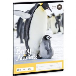 Pingvin sima füzet A5