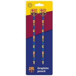 FC Barcelona grafit ceruza radírvéggel 2db