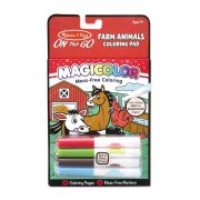 Melissa & Doug Kreatív játék, Mágikus színező füzet