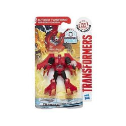 Transformers - Robots In Disguise: Legion Autobot Twinferno robotfigura - Hasbro