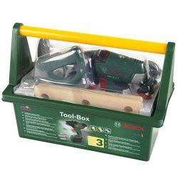 Bosch szerszámosláda akkus csavarbehajtóval - Klein Toys