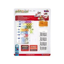 Játékpénz csomag vonalkódokkal - Klein Toys
