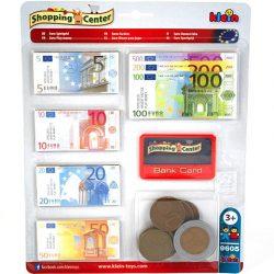 Euro játékpénz bankkártyával - Klein Toys