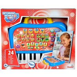 My Music World Mókás szintetizátor 24 billentyűvel - Simba Toys