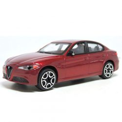 Bburago: Alfa Romeo Giulia bordó kisautó 1/43