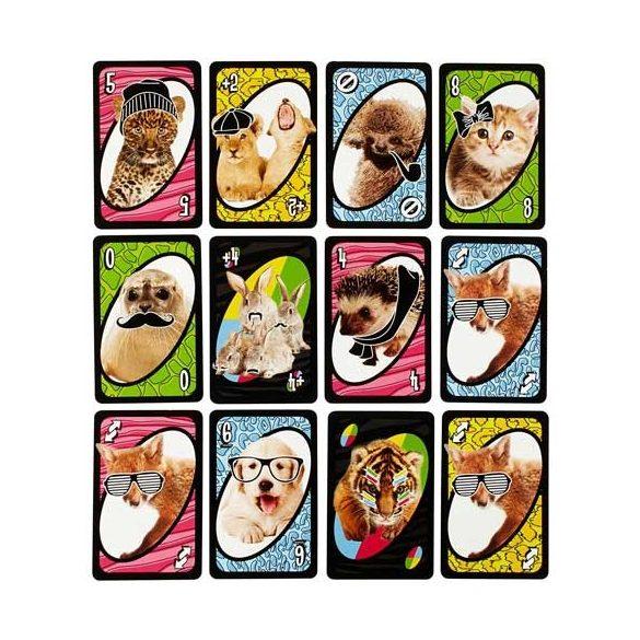 Állatkölykös UNO kártyajáték - Mattel