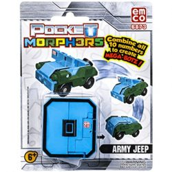 Pocket Morphers 0 Army Jeep