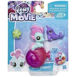 Én kicsi pónim: Bébi Sea Foam sellőpóni figura - Hasbro