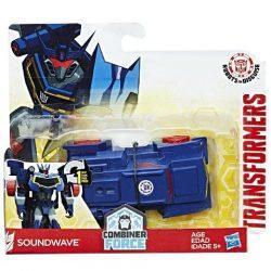 Transformers - Robots in Disguise: Soundwave egy lépéses robotfigura - Hasbro