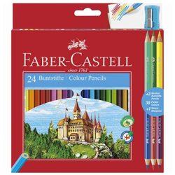 Faber-Castell: Színesceruza készlet 24+3 db