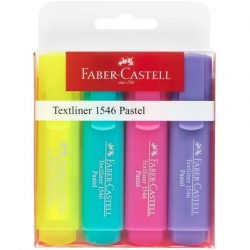 Faber-Castell: Superfloures szövegkiemelő 1546 4db-os készlet