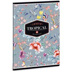 Tropical Butterfly kockás füzet A/5 27-32