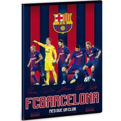 FC Barcelona kockás füzet játékosokkal A/5