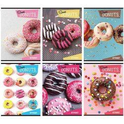 Street Donuts 3.osztályos vonalas füzet A/5-ös 54 lapos