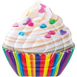 Cupcake felfújható matrac 142x135 - Intex