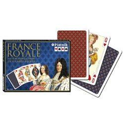 Piatnik Luxus römi kártya - France  Royal