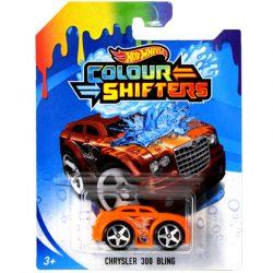 Mattel: HW Chrysler 300 Bling Színváltós kisautó